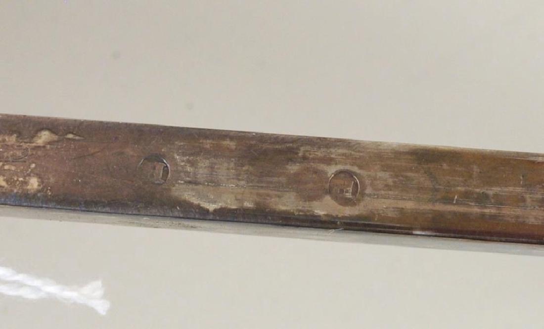 Old Sheffield Silver Plate Wax Jack, Bowl Cross - 5