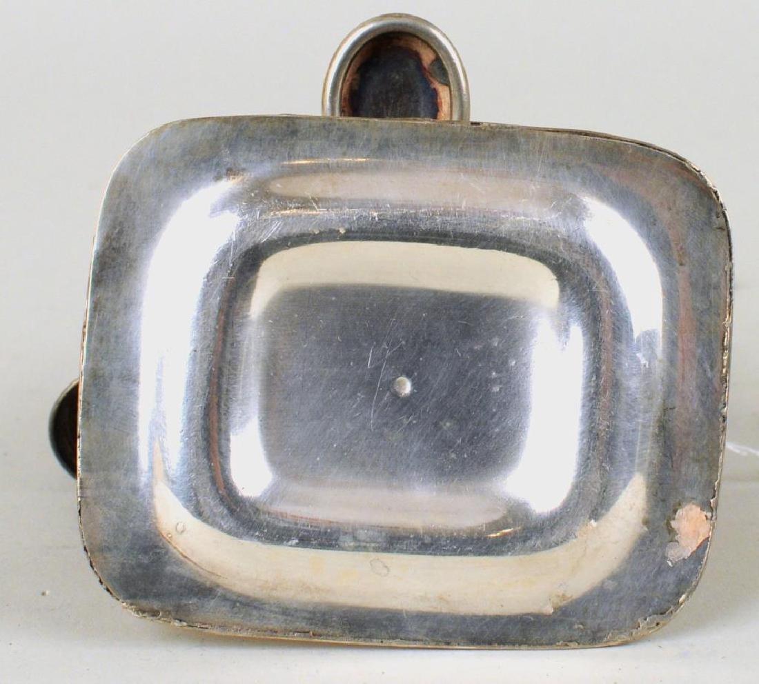 Old Sheffield Silver Plate Wax Jack, Bowl Cross - 8