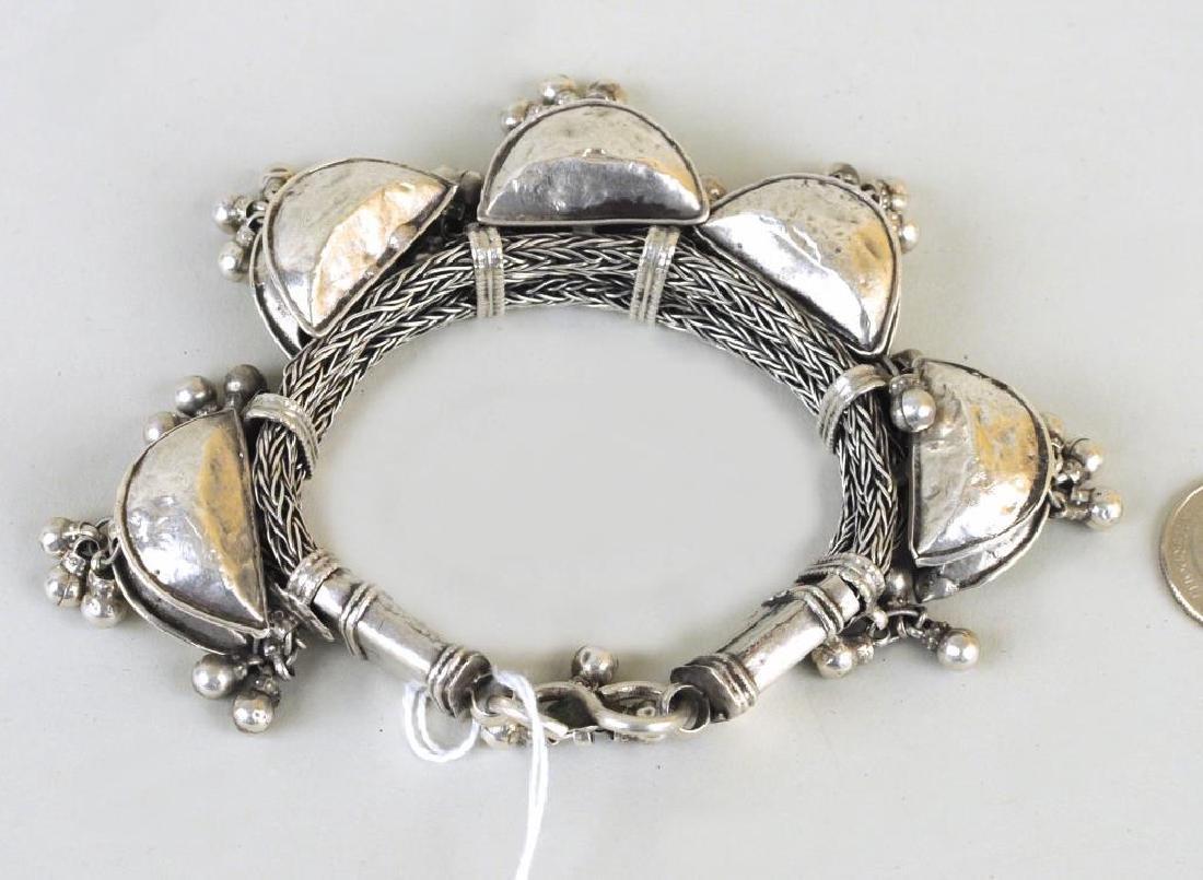 Indian Silver Bracelet - 2