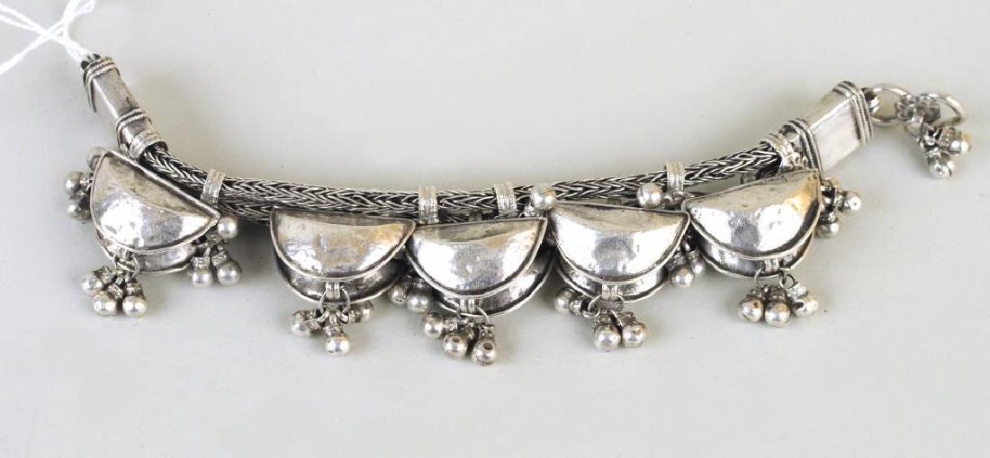 Indian Silver Bracelet - 3