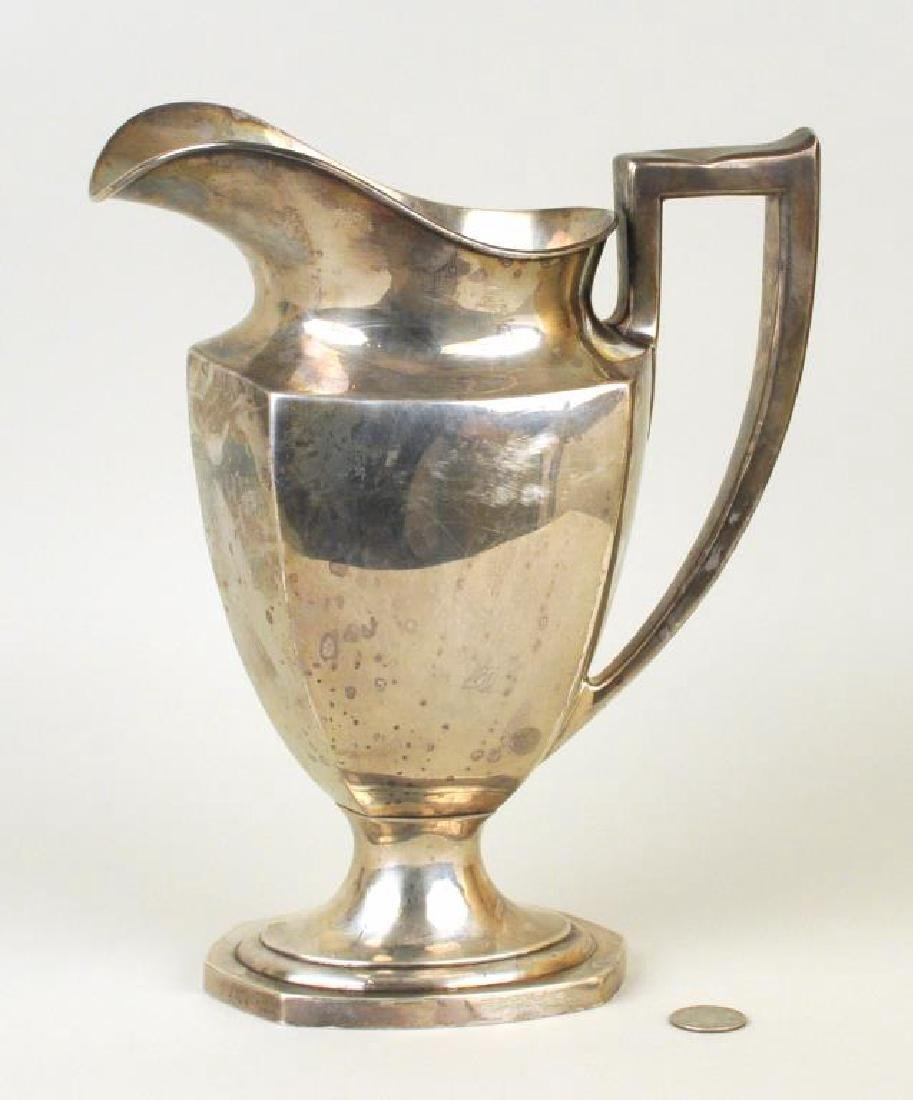 Sterling Water Pitcher - 2