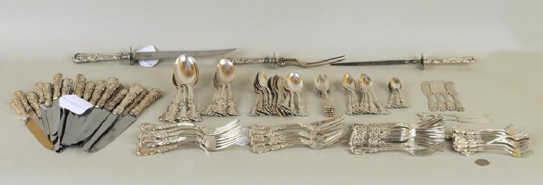 Partial Sterling Flatware Service