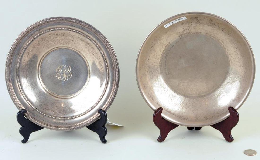 Two Sterling Silver Bowls