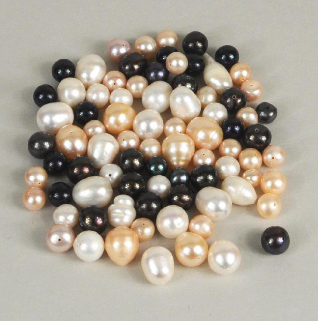 Large Group Loose Cultured Pearls - 4