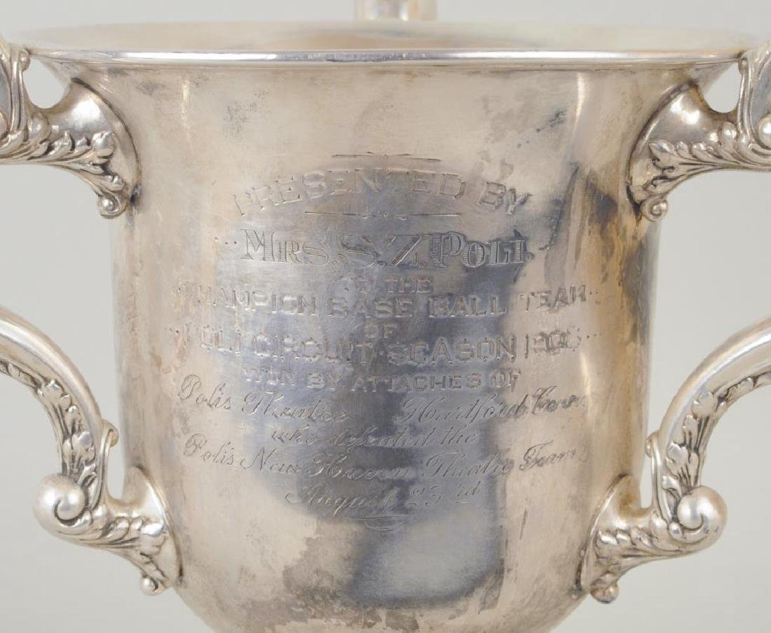 Rogers Bros. Silver Plate Loving Cup Trophy - 5
