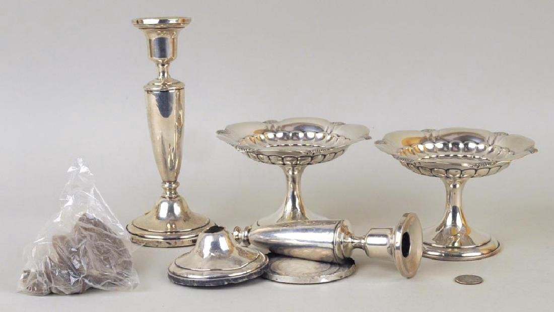 Pair Gorham Sterling Small Tazzas