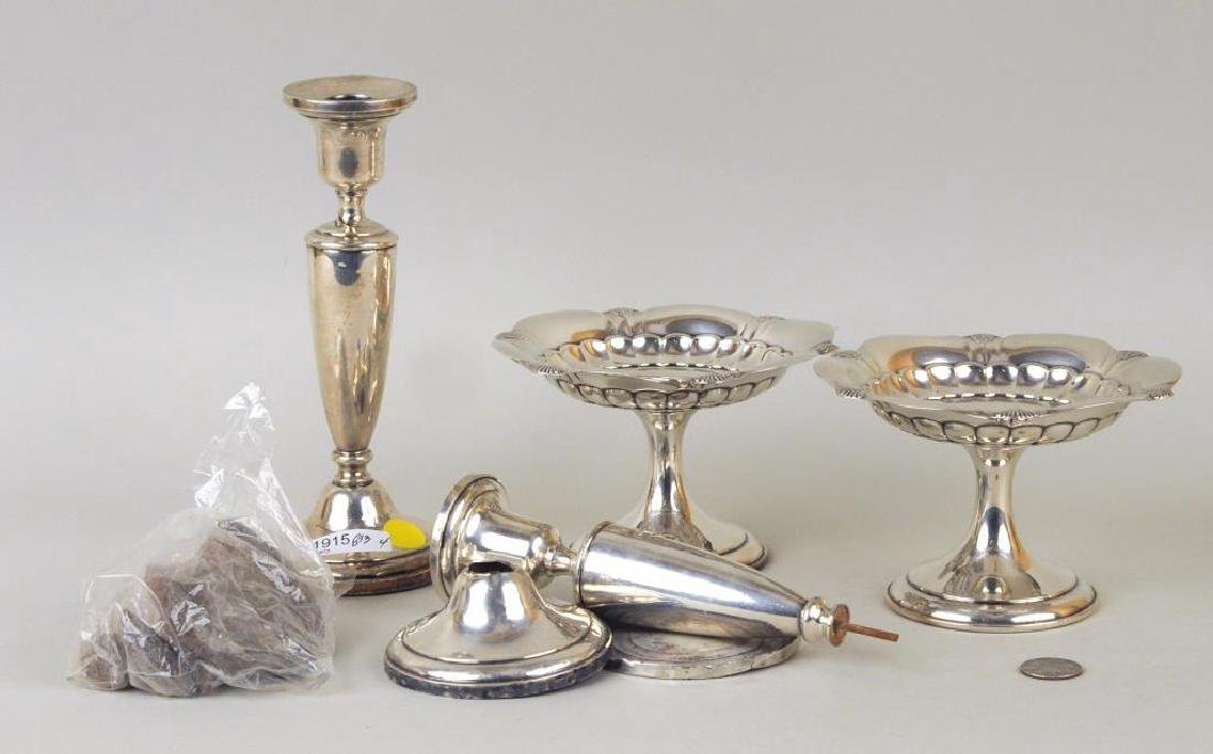Pair Gorham Sterling Small Tazzas - 2