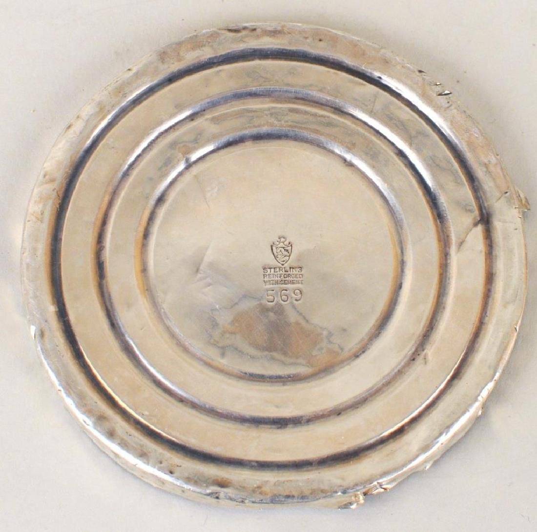 Pair Gorham Sterling Small Tazzas - 7