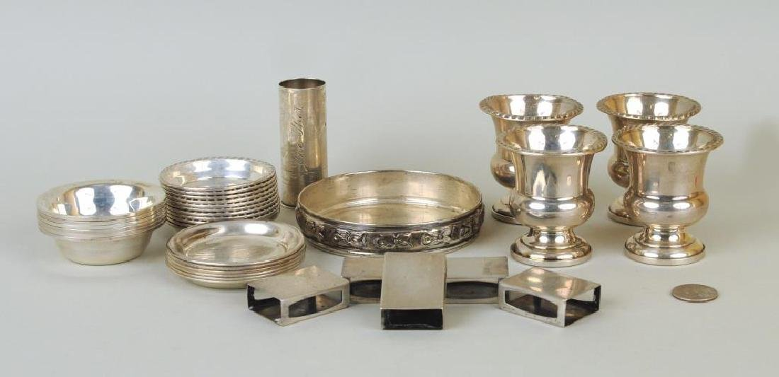 Group Assorted Small Sterling Items, Cartier