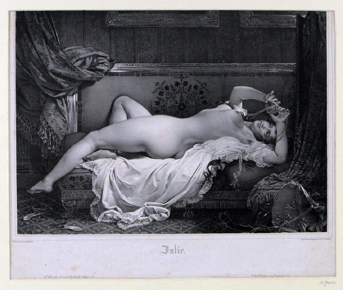"""Julie"", Lithograph After Nicholas Eustache Mavrin - 2"