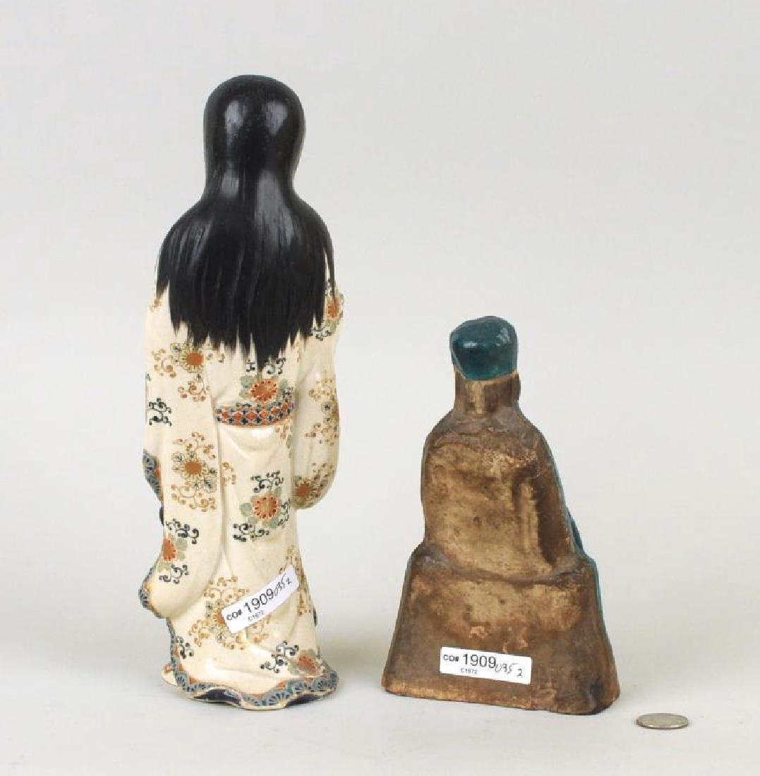 Two Asian Pottery Figures - 2