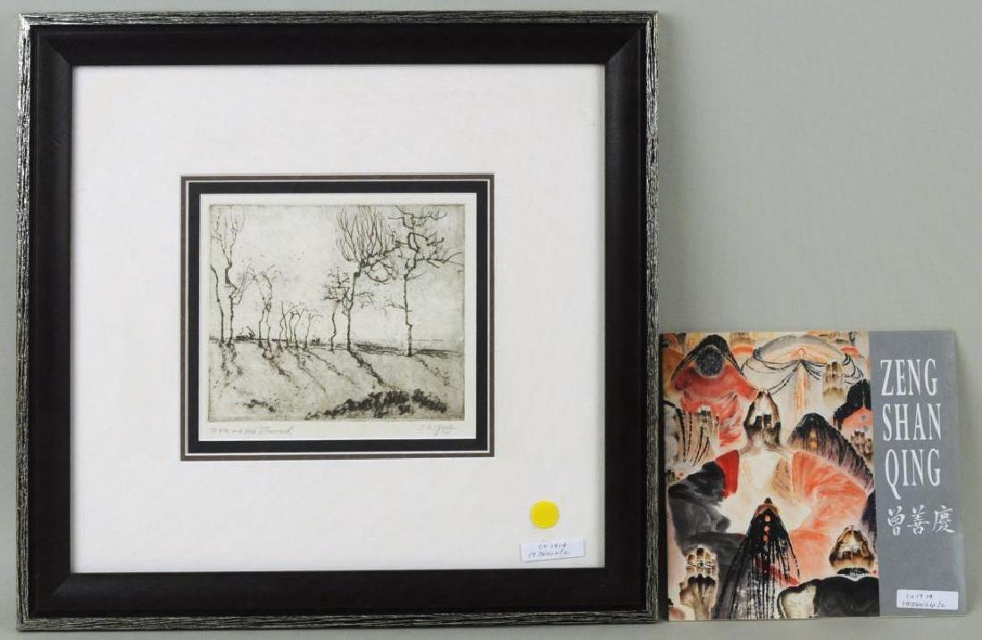 """Shanqing Zeng Asian, B. 1932, """"Trees"""""""