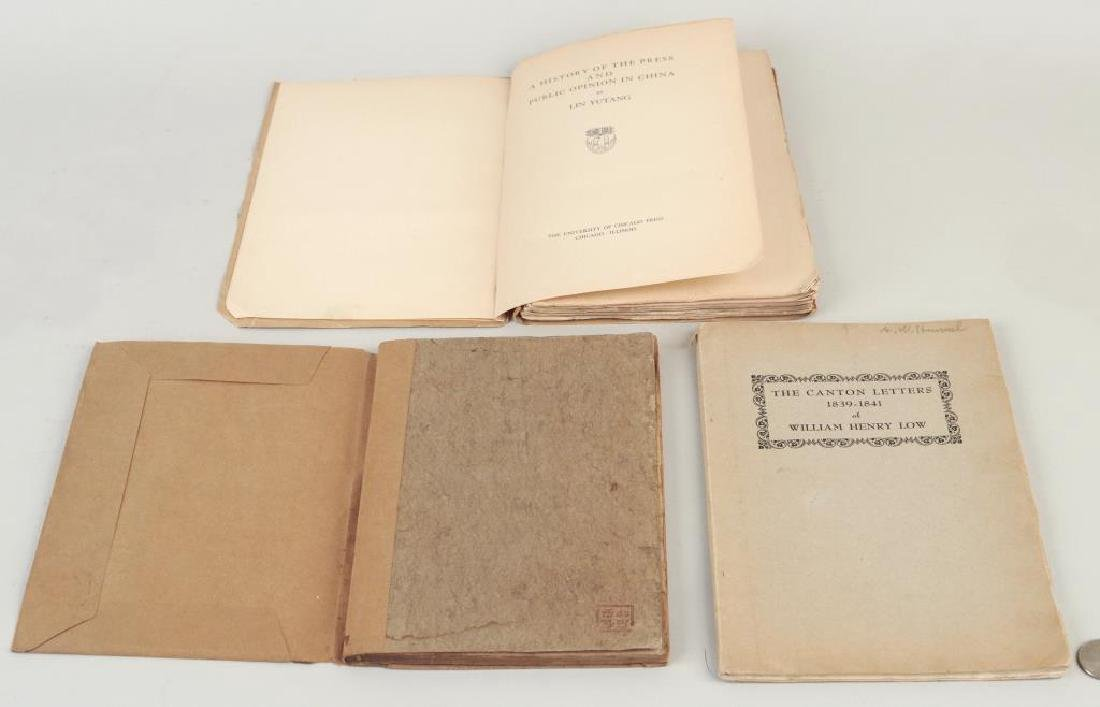 Three Volumes Relating to China