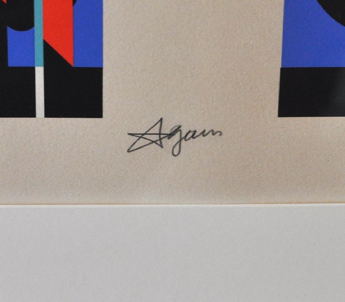 Yaacov Agam, Framed Serigraph - 3