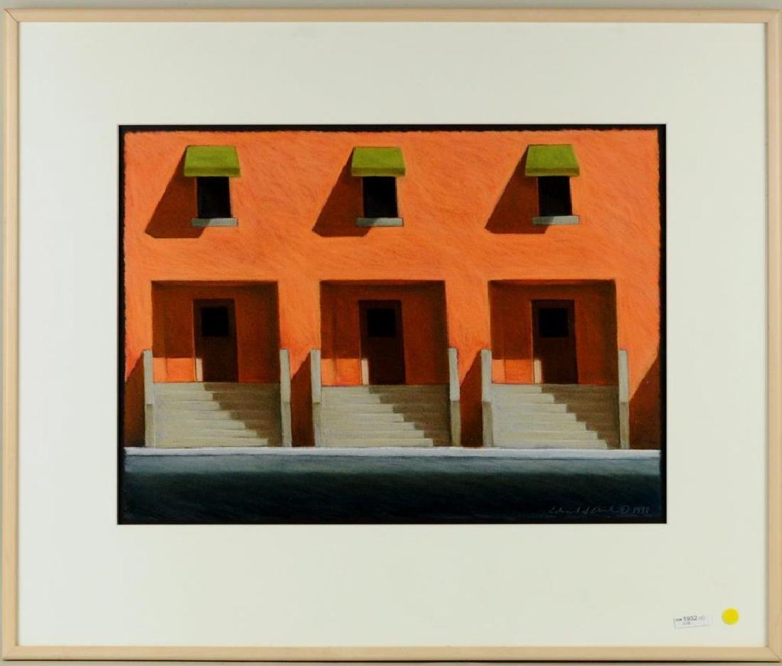 "Edward V. Avila ""Time Has No Motives"" Pastel/Paper"
