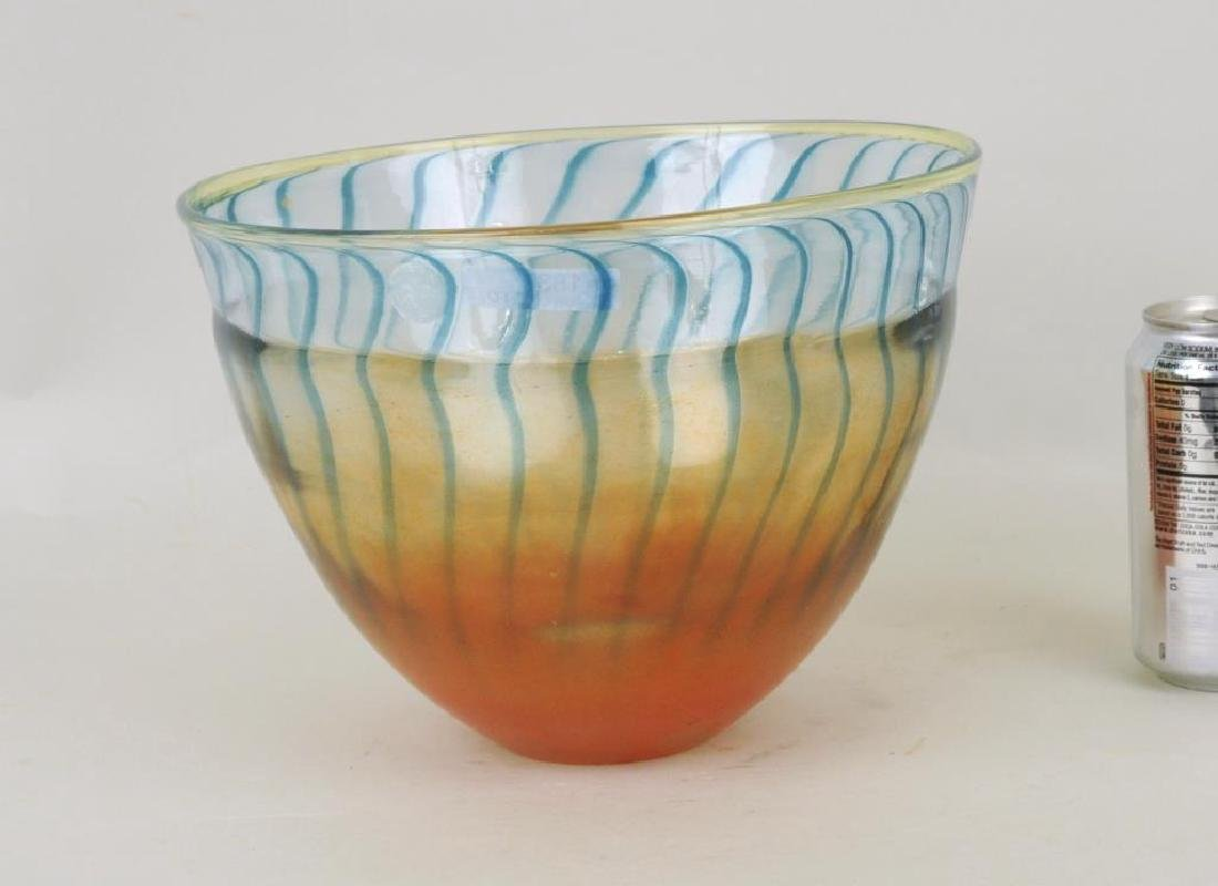 Modern Three Color Glass Bowl - 2