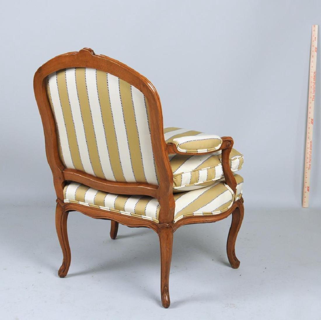 Pair Louis XV Style Fauteuils - 3