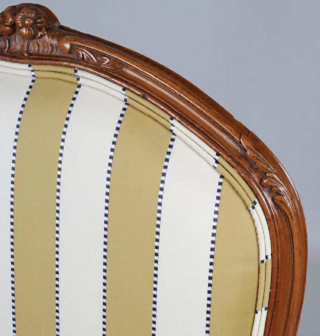 Pair Louis XV Style Fauteuils - 5