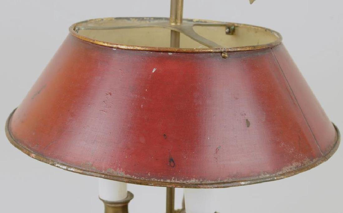 French Brass Bouiliotte Lamp - 5