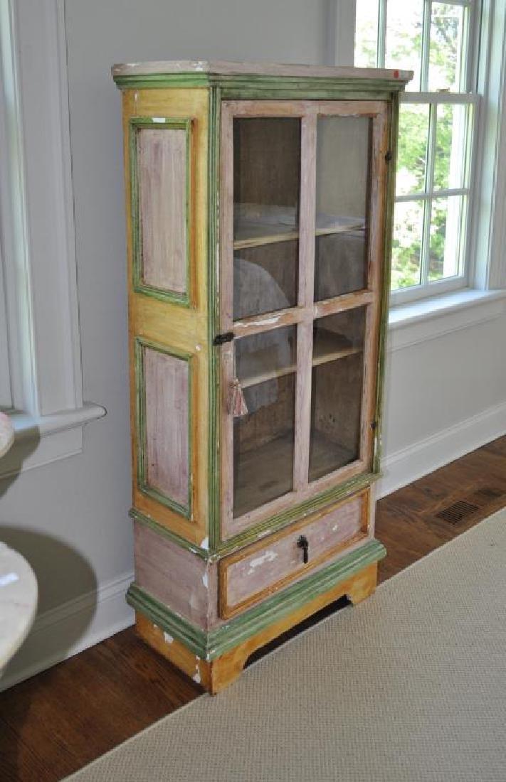 Swedish Painted Display Cabinet - 3