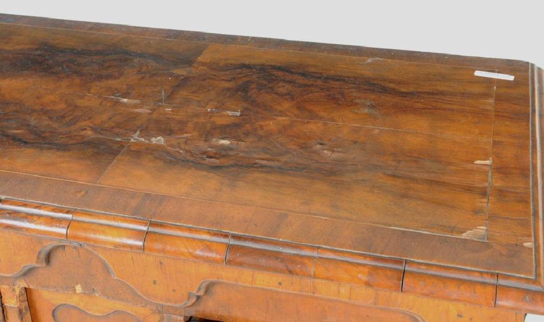 English Queen Anne Walnut & Inlaid Chest - 5