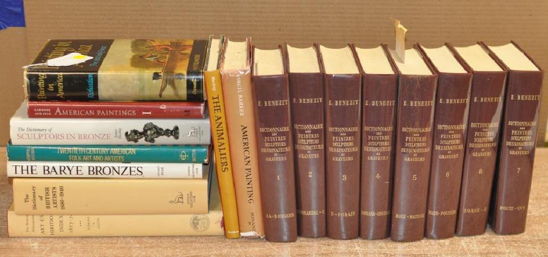 Group Art Reference Books, Benezit