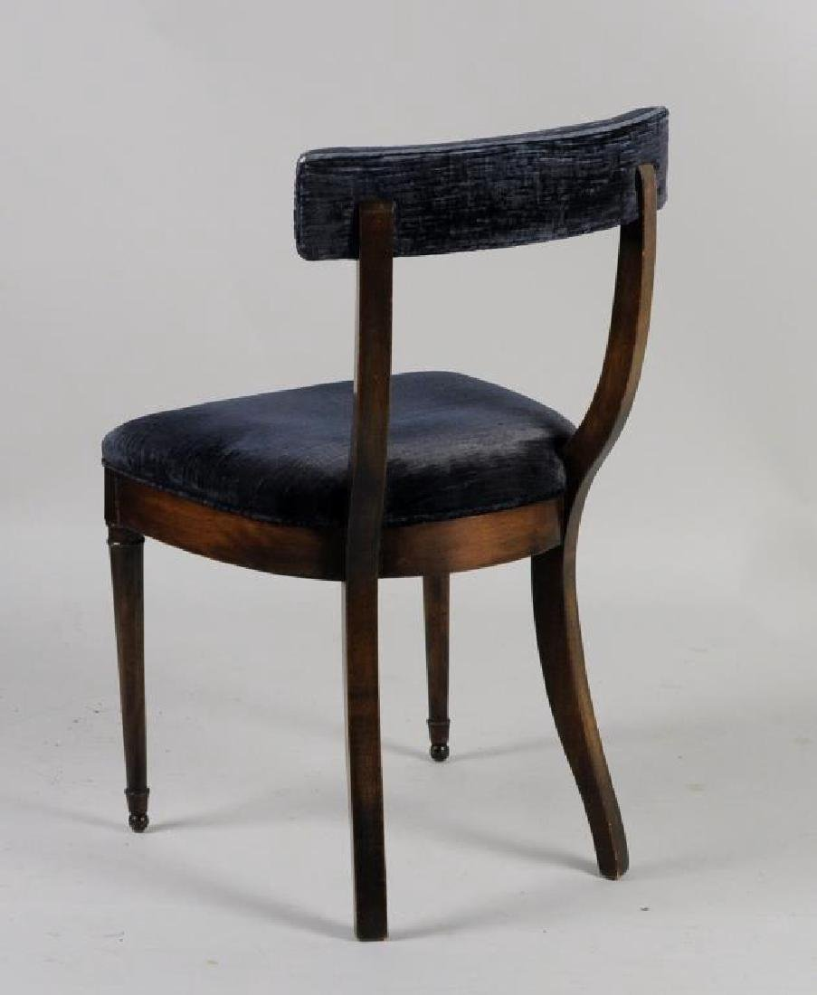 Set Four Continental Side Chairs - 2