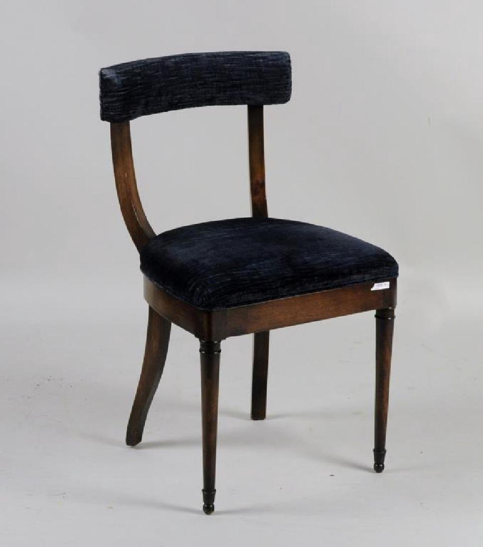 Set Four Continental Side Chairs - 4