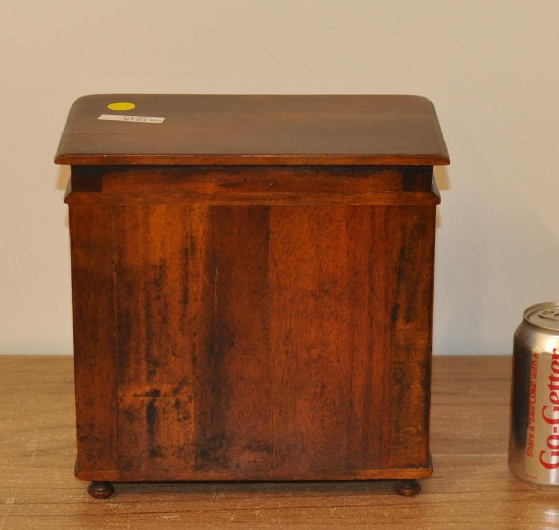 Miniature Regency Style Mahogany Chest - 3