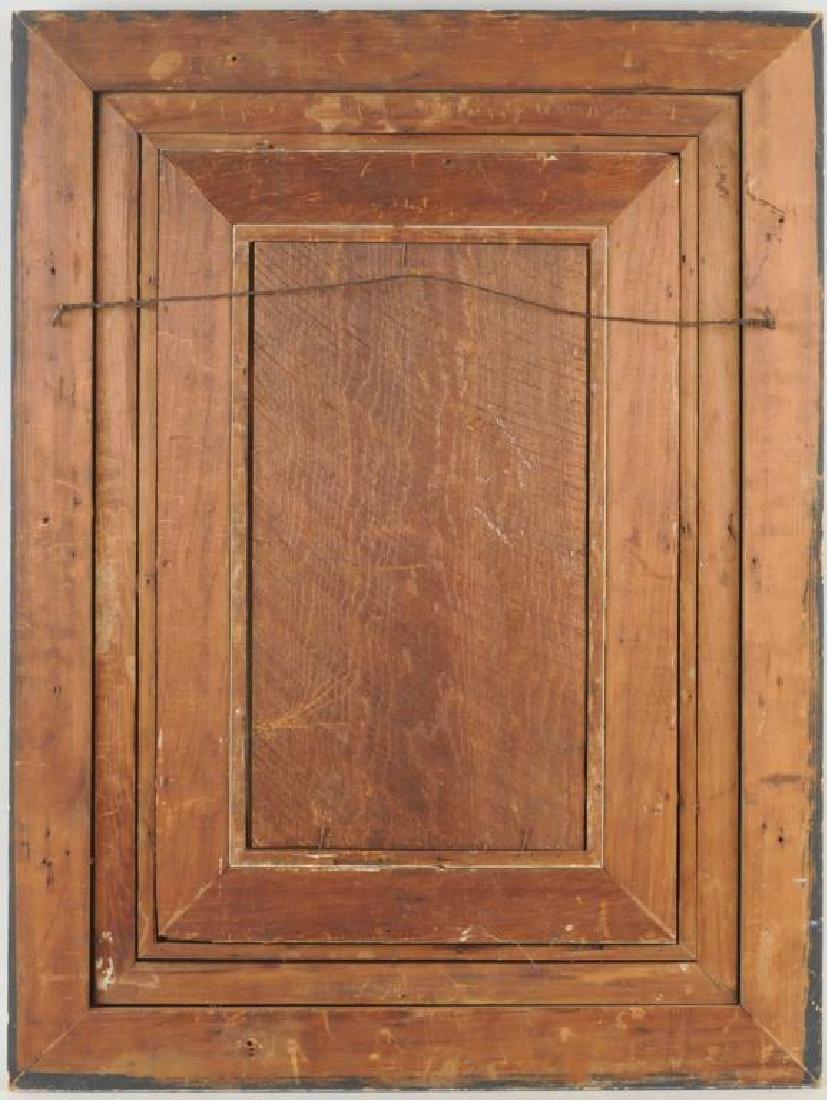 Framed 19th C. Zuber Wallpaper Fragment - 2