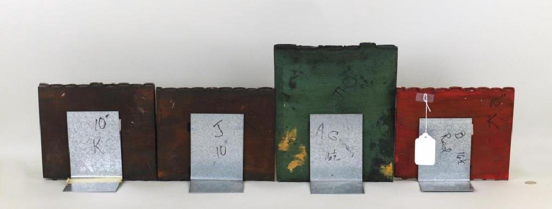 Group Four Cast Faux Book Sections - 2