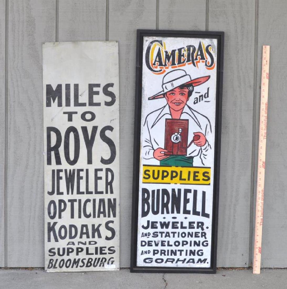 Two Trade Signs