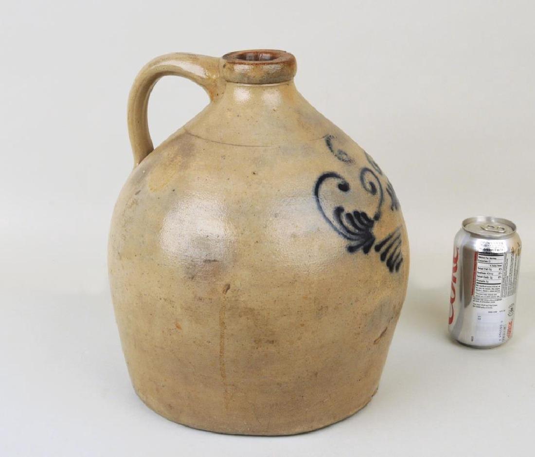 Cobalt Decorated Stoneware Jug