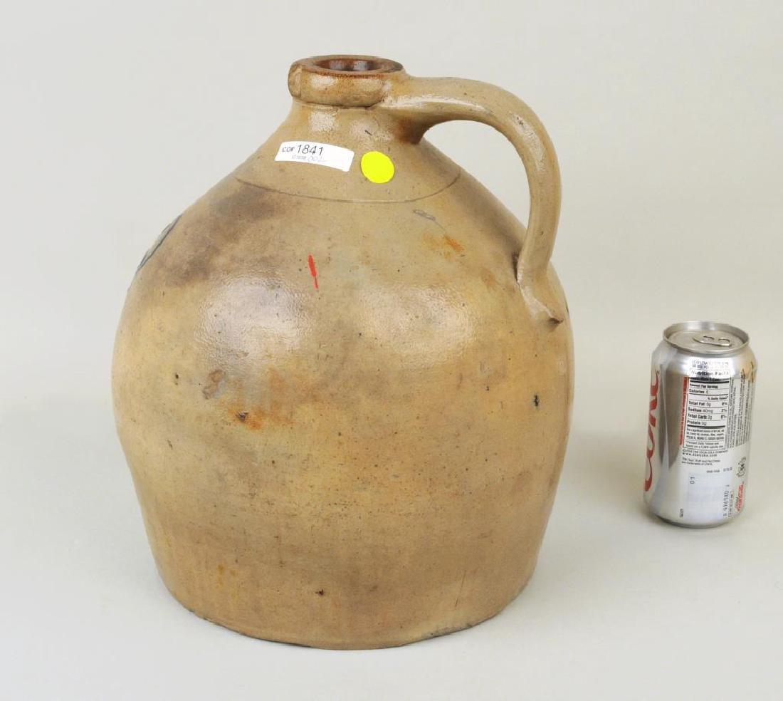 Cobalt Decorated Stoneware Jug - 2