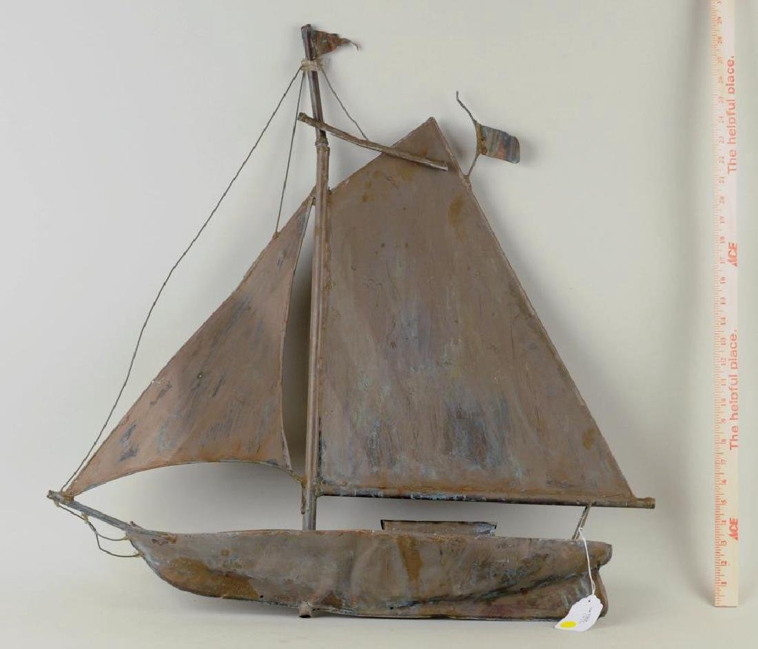 """Sailboat Weathervane """"Washburn"""""""