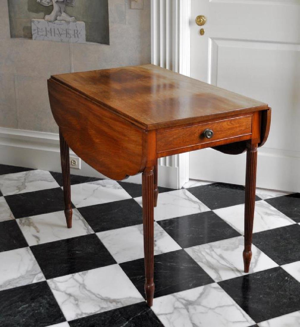 American Sheraton Pembroke Table