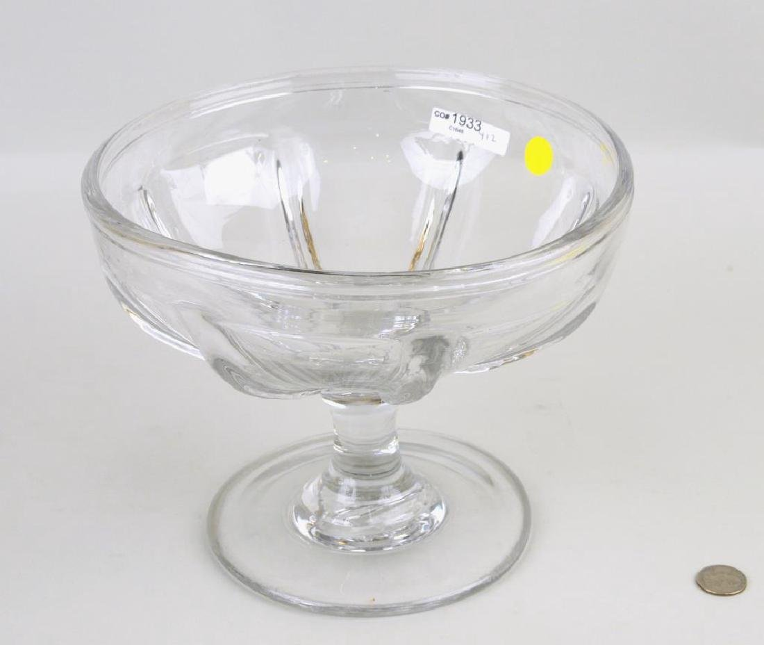 Pittsburgh Flint Glass Compote