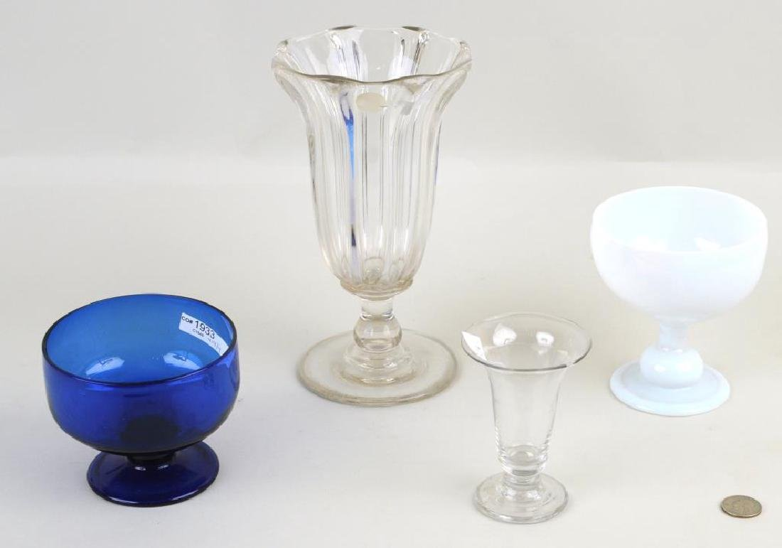 Four Early Glass Items