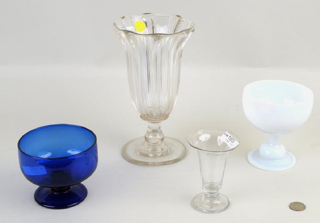 Four Early Glass Items - 2