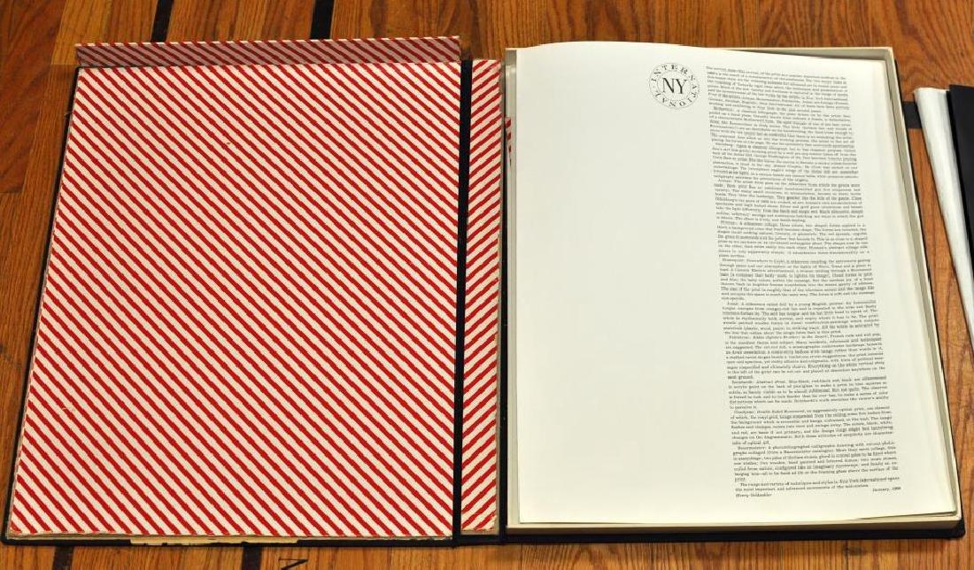 Two Prints, The 1966 NY International Portfolio - 2
