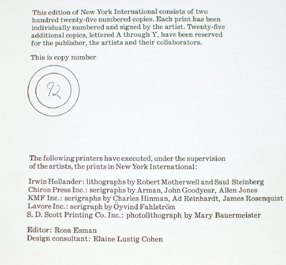 Two Prints, The 1966 NY International Portfolio - 4