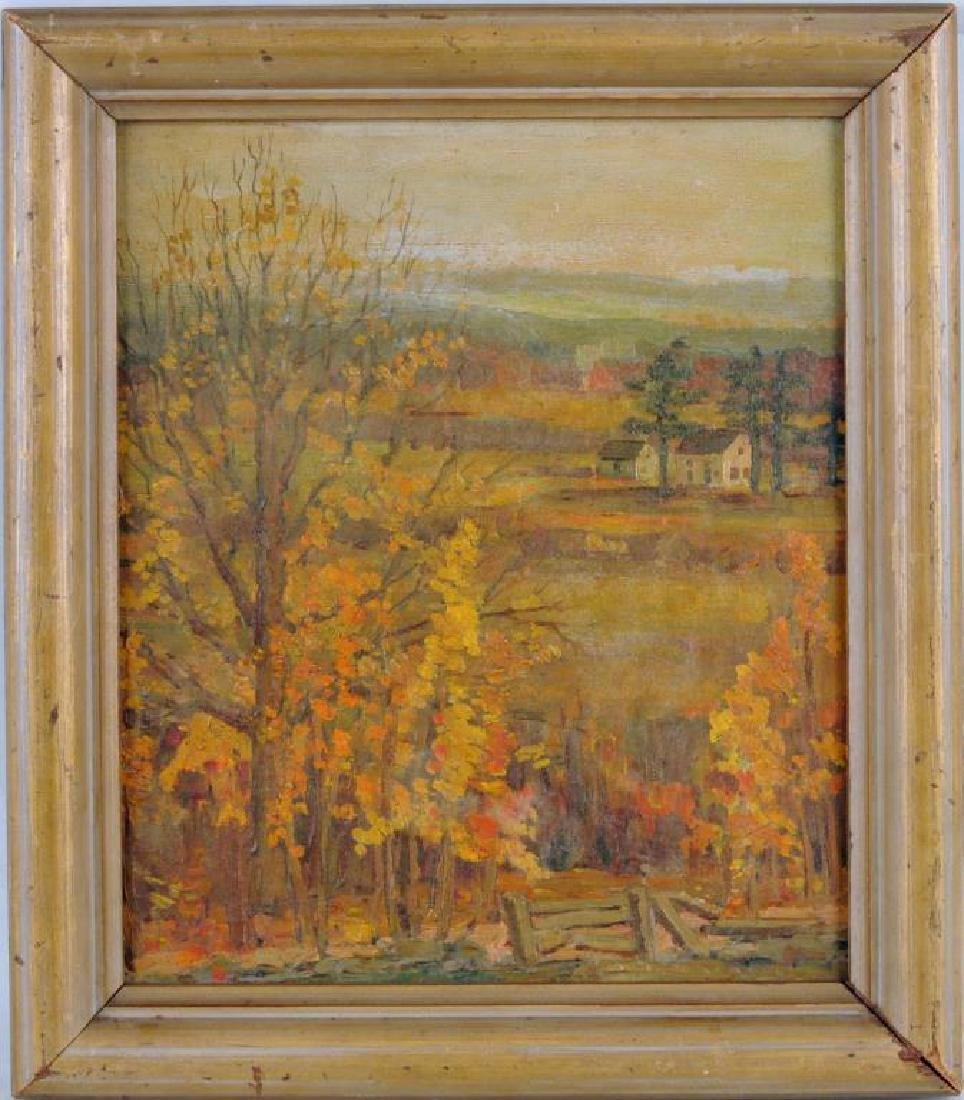 American School, New England Landscape O/B