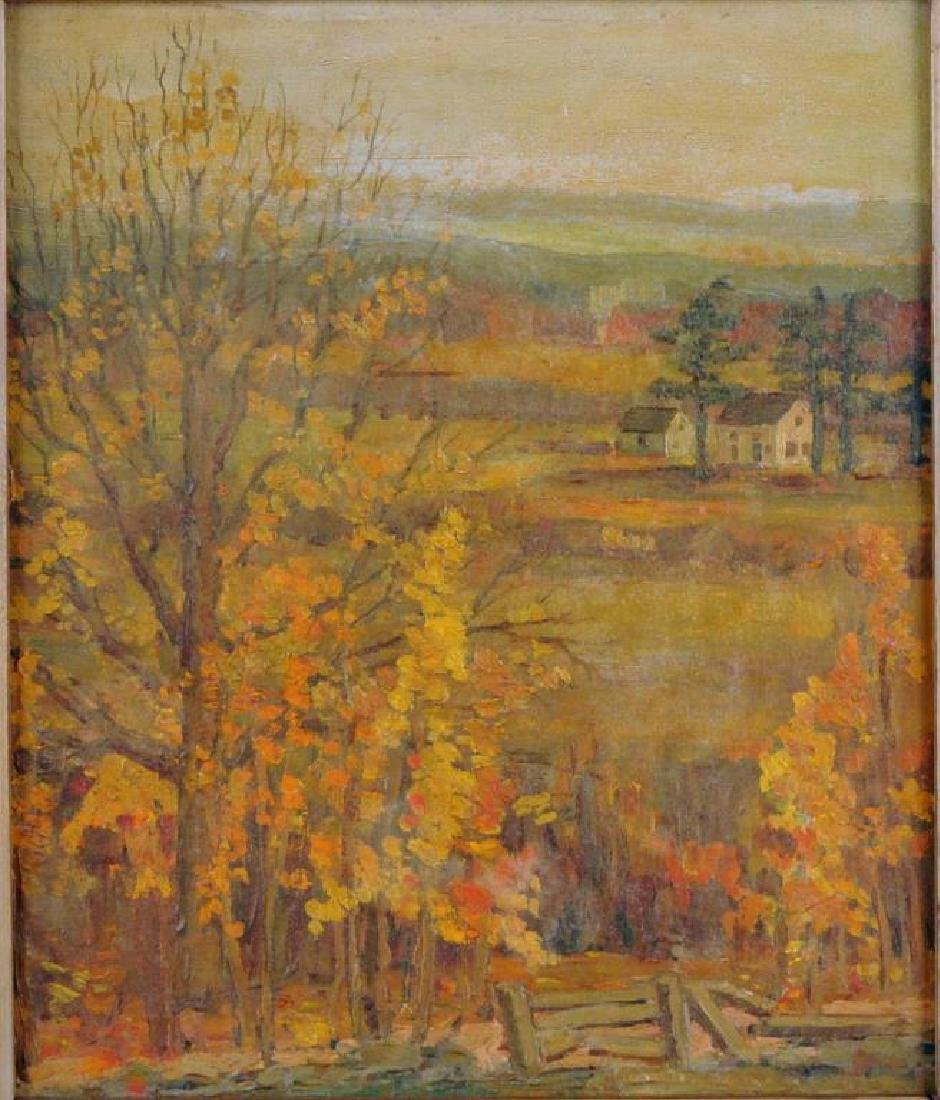 American School, New England Landscape O/B - 2
