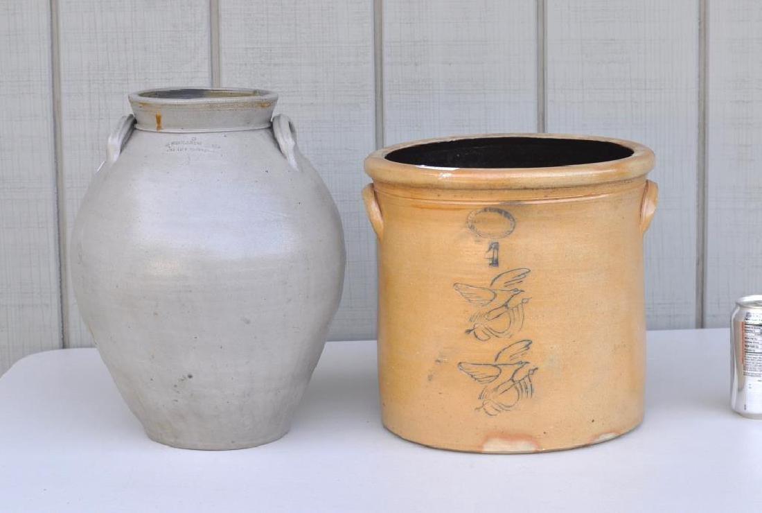Stoneware Ovoid Charlestown Jug