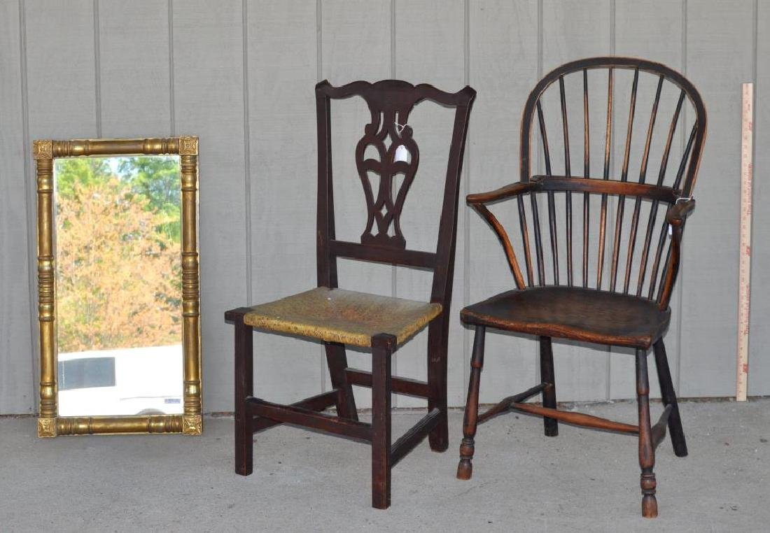 Antique Furniture Group, Three Items