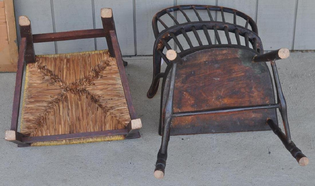 Antique Furniture Group, Three Items - 3