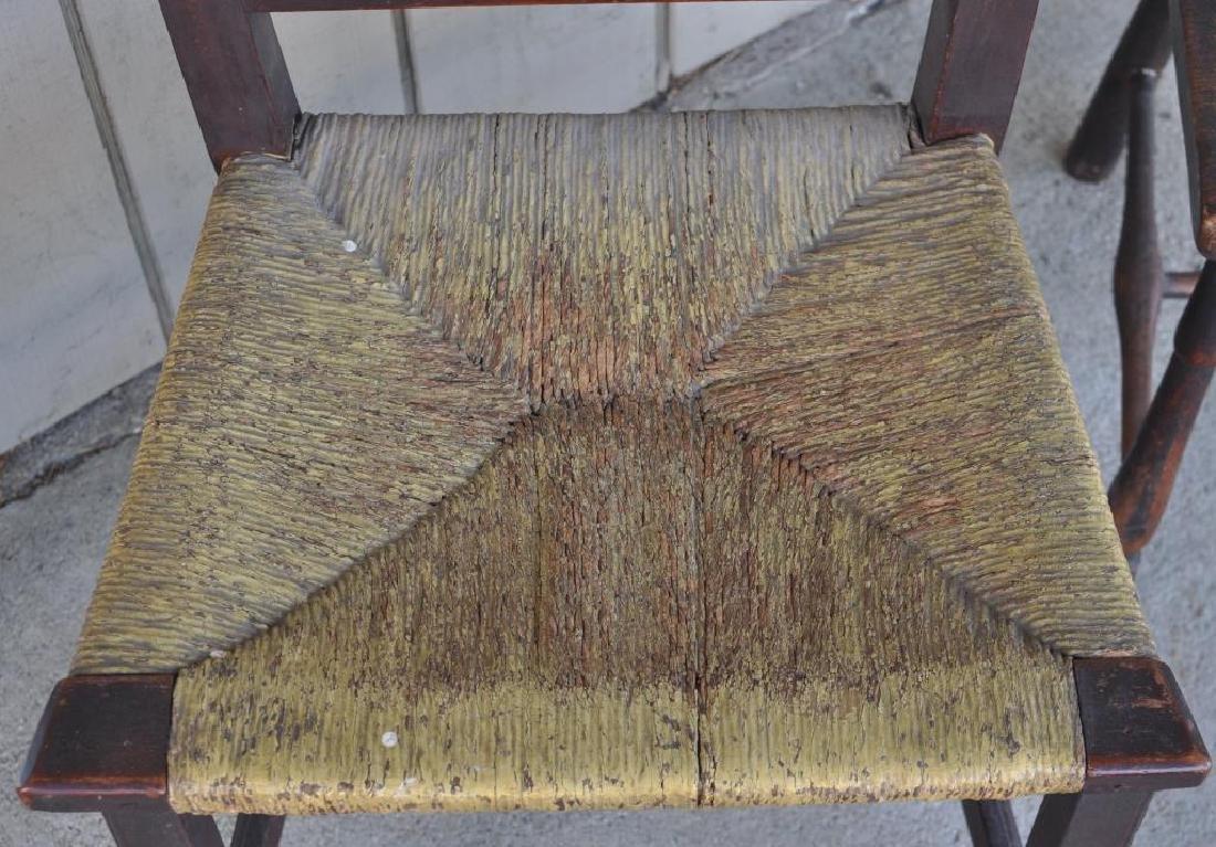 Antique Furniture Group, Three Items - 6