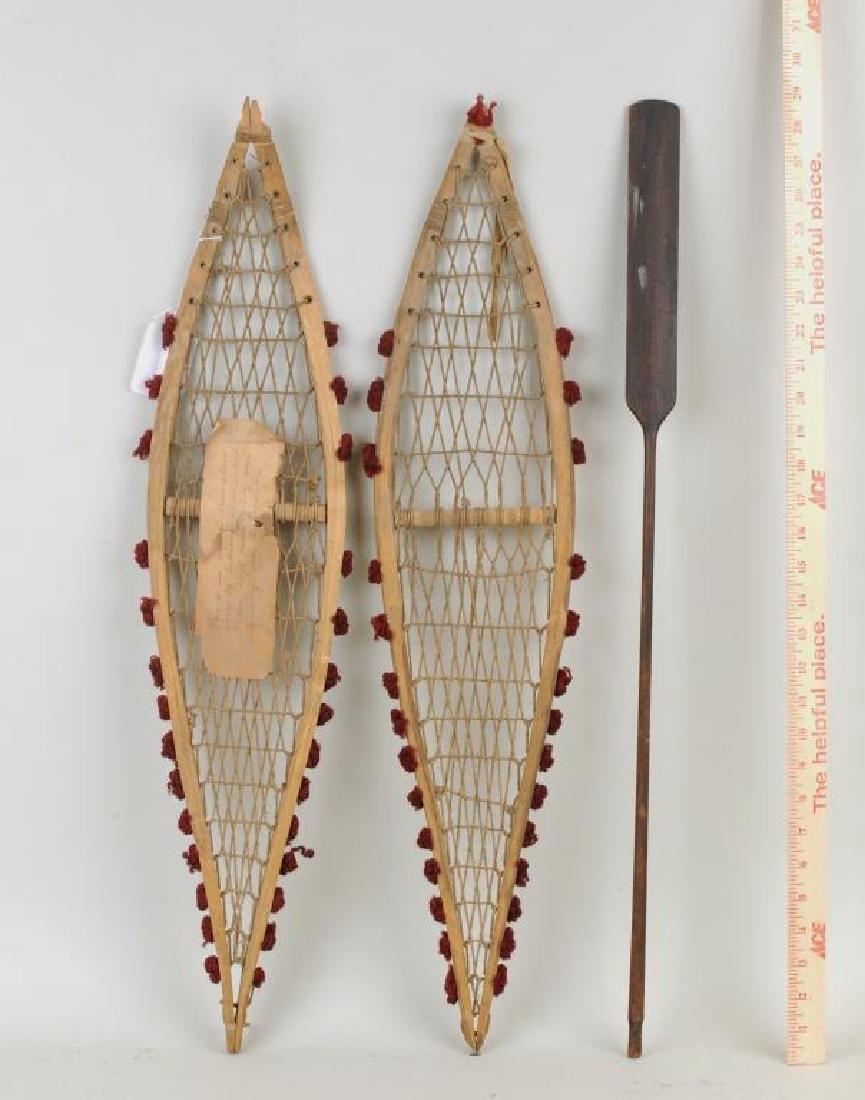 Three Native American Souvenir Items