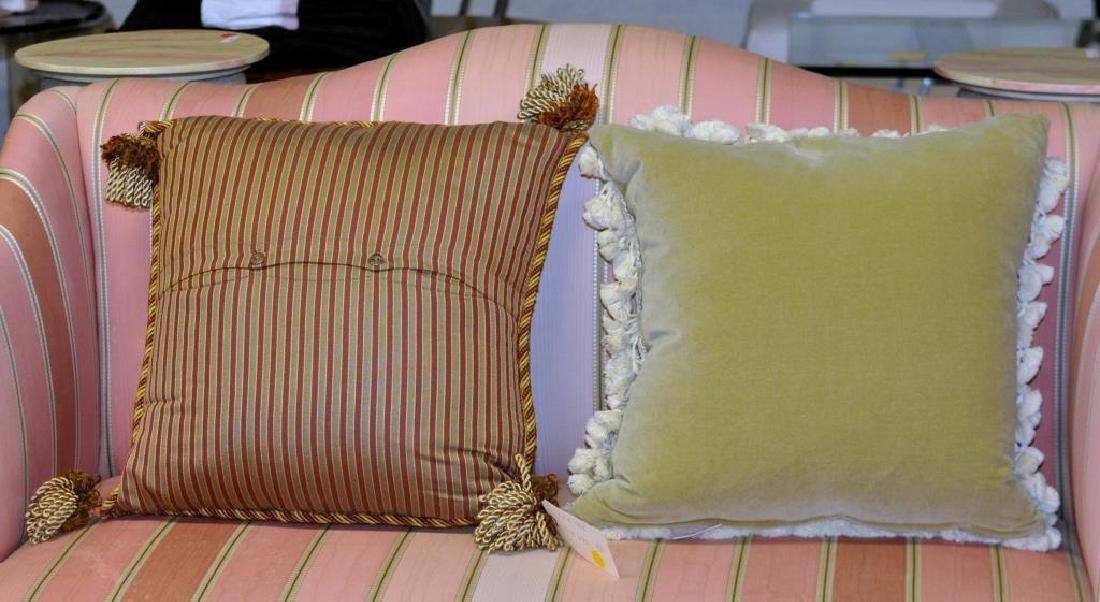 Four Needlepoint Throw Pillows - 3