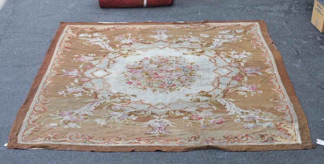 French Floral Tapestry